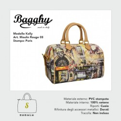 BORSA BAGGHY PICCOLAKELLYMOULIN ROUGE 03STAMPA PARIS